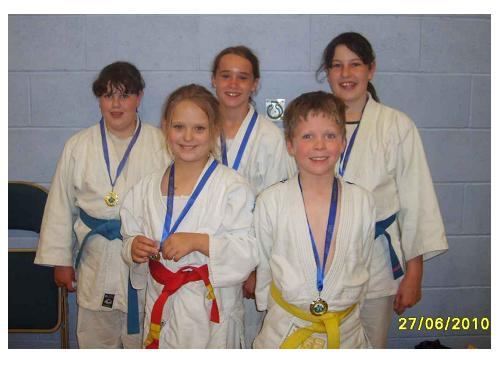 Picture of our older medallists